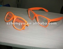 Eco - friendly PC plastic chromadepth 3d fireworks glasses suitable for celebration