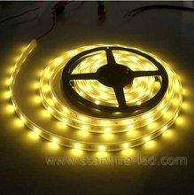 SMD3528 flexible led strip light, 5m /reel,30 leds/meter, 12V/1A, 3-led cuttable CE&RoHS