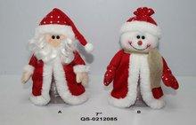 Santa snowman christmas candy jars