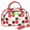 colorful PU design travel storage bag