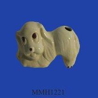 vintage dog ceramic air freshener