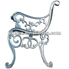 Decorative Ductile Iron Cast Street Furniture Bench Leg