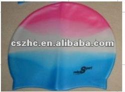 2012 hot sale silicone ear swim cap