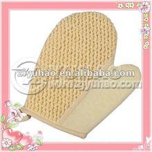 Professional Exfoliating Bump Hemp Body Sponge Gloves