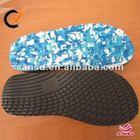 textured eva sole material