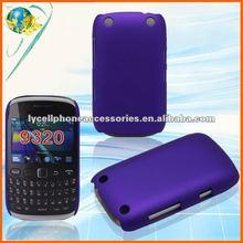 Dark Purple Plastic skin For BlackBerry Curve 9220/9320 Rubberized Hard Back Cover Case