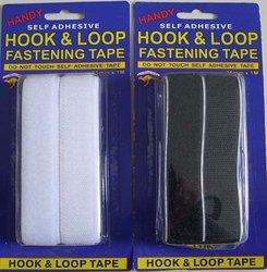 100% nylon Hook and Loop Self adhesive Velcro Fastener Tape