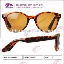 Retro Trotoise 2012 Newest Popular Womens Fashion Sunglasses