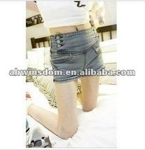 2012 fashion denim hot shorts for ladies
