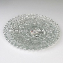 glass tableware bowls and plate