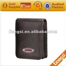 newest hot wholesale men's stylish dslr leather camera bag