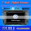 7 inch 2 din Car Dvd Player with GPS for VW VOLKSWAGEN GOLF BORA PASSAT