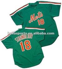 2012 Kids Baseball shirts With contrast color rib polyester USA new pullover baseball jersey/uniform