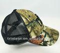 3d bordados de algodão e malha chapéu camuflado