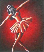 girl Dancing Painting