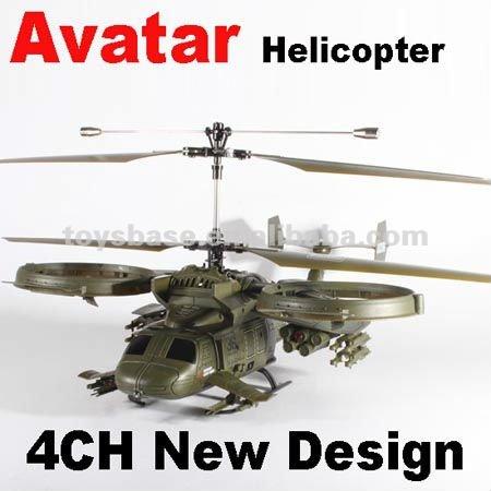 helicóptero de controle remoto de avatar