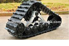 ATV/SUV rubber snowmobile tracks system/kits