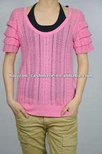 100% Cashmere Woman Custom Knit Sweater