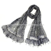 2012 Lace Print Scarf Wholesale SC-19123