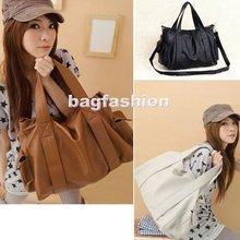 Korean Style Women Hobo leather Large Capacity Handbags