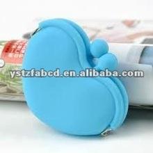 Fresher! 2012 Fashion Sweet-heart Love Silicone Coin Purses