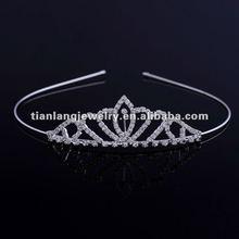 2012 New Style Wholesale Fashion Diamond Wedding Crown Charming Crystal Bridal Headbands