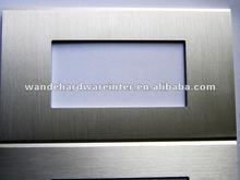 Brushed Metal Modular Face Plate
