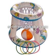 PVC inflatable basketball hoop