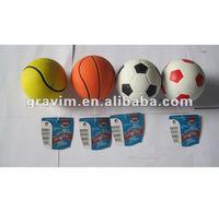 foam rubber ball
