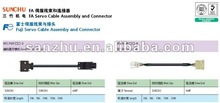FUJI series servo cable assembly and connector WSC-P06P_ _-C