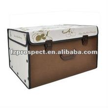 Fabric non woven storage bin, foldable storage container