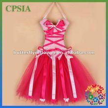 boutique hair tutu bows holder dress decoration