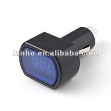 12V-24V Digital LED Auto Car TRUCK SYSTEM Voltmeter Gauge Voltage Volt Meter