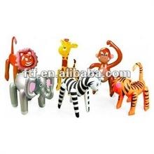 şişme zool Ormanda hayvan oyuncak