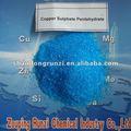 Produits chimiques de cuivre de nettoyage de 25% CuSO4.5H2O