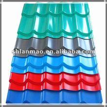 Color steel Glazed roof tile