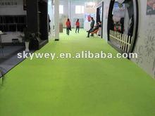 Non woven polyester plain exhibition carpets manufacturer