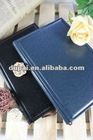 2012 Handmade Business Meeting Planner PU Leather Cover Notebook