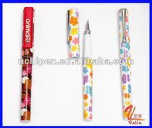VAA-197 flower printing plastic pen