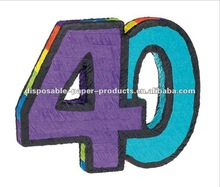Wholesale 40th birthday party pinata - 40th Birthday Party Supplies
