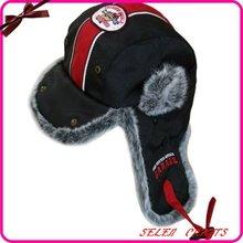 2012 fashion faux fur winter bomber trapper hat