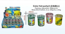 2012 hot sell color fish putty /promotion gift TE12040261