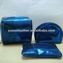2012 hot sale promotional glitter cosmetic bag in bulk