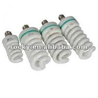 26w half /full spiral energy saving lamps
