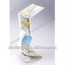 accordion pleat map