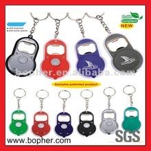 custom cute key ring bottle opener