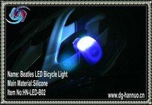 Beetle bike alarm light,led helmet light,bicycle flashlight mount(FACTIRY PRICE)