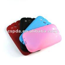 For Samsung Galaxy S3 I9300 colorful silicon case cover