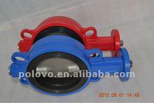 long stem rubber seal butterfly valve