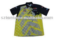 sublimation motorcycle racing shirts
